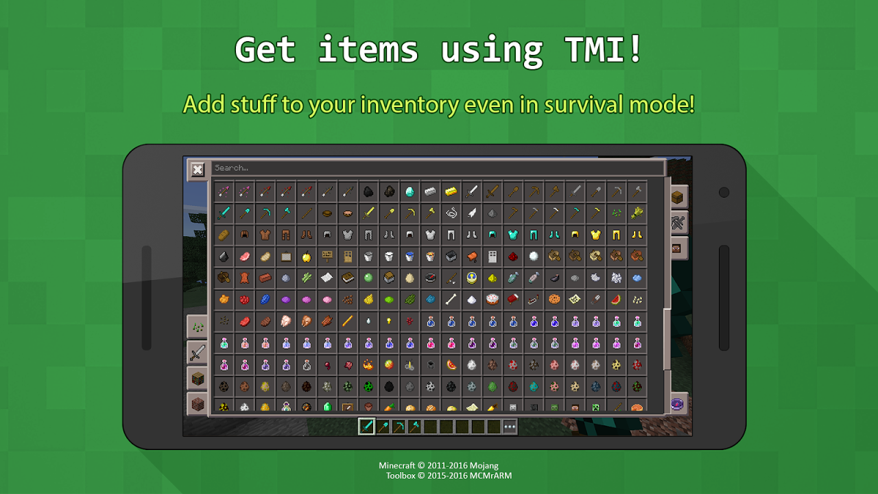 Toolbox for Minecraft: PE screenshot 2