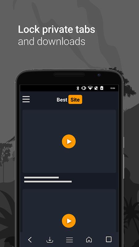 Navegador gratuito e privado screenshot 1