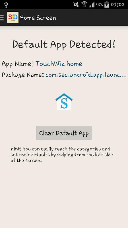 Set Defaults screenshot 2