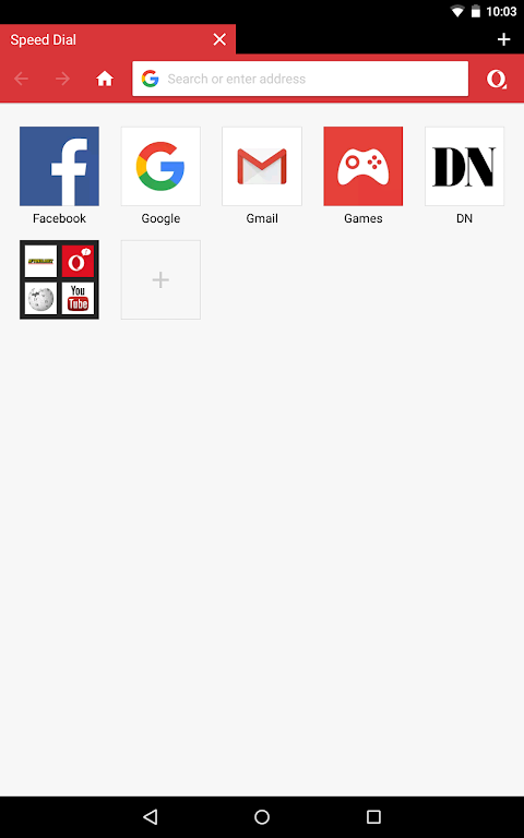 Opera Mini - fast web browser screenshot 7