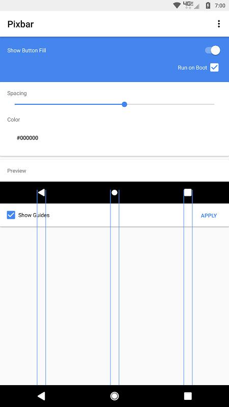 Pixbar screenshot 2