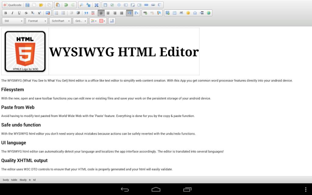 Html editor free download wysiwyg html