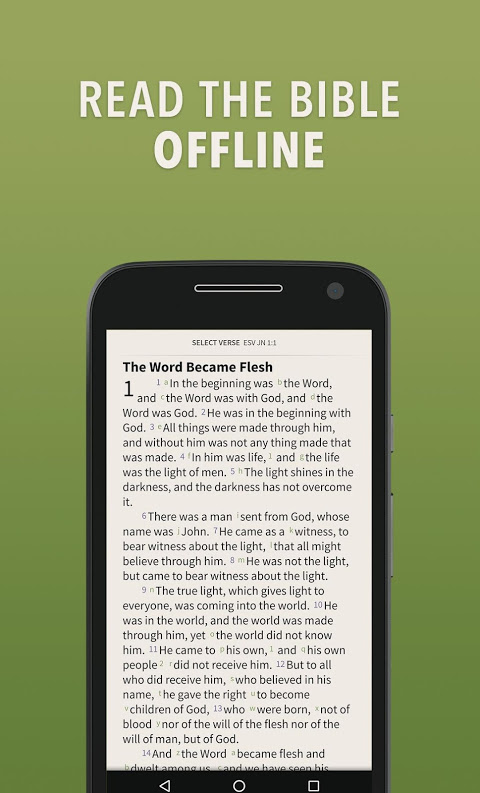 Bible by Olive Tree screenshot 1