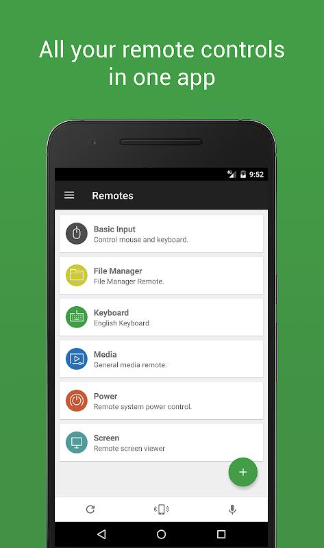 Unified Remote screenshot 1