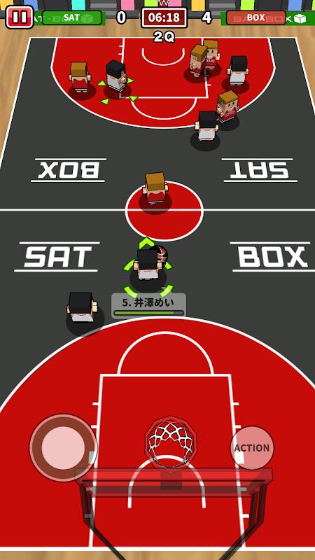 机でバスケ screenshot 2