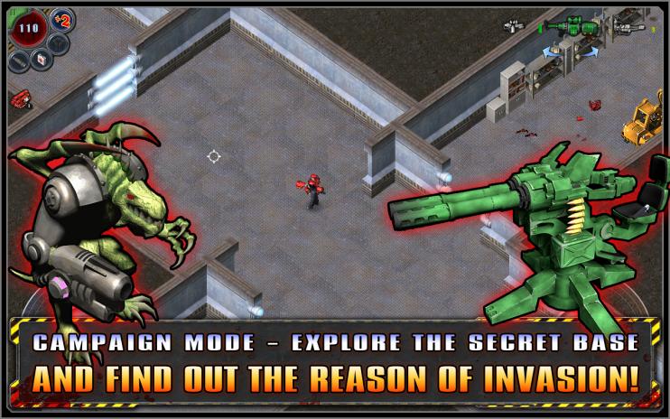 ... alien shooter screenshot 5