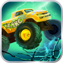 Mad Truck 2 -- driving monster truck hit zombie