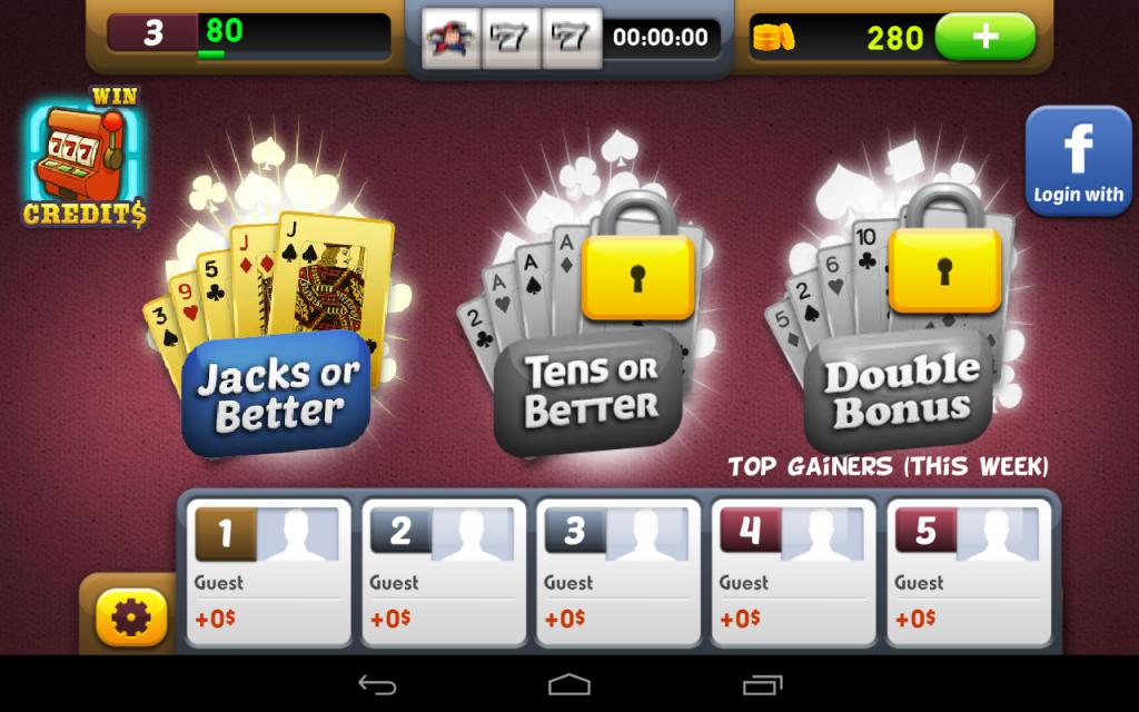 video poker slot free download