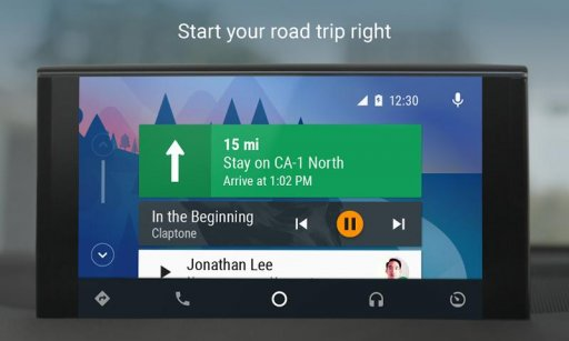 Android Auto - Maps, Media, Messaging & Voice screenshot 8