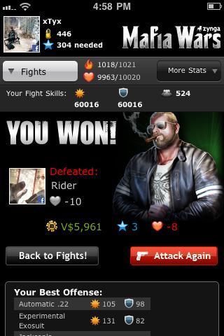 Mafia Wars Screenshot