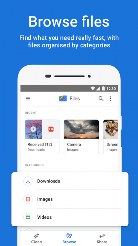 Files do Google: libere espaço no seu celular screenshot 3