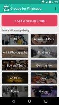 Groups for Whatsapp Screenshot