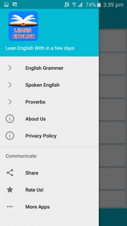 Learn Spoken English : Grammer 1 0 Download APK for Android