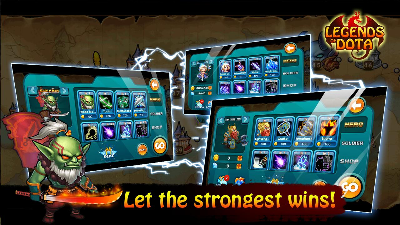 legends of dota 1 3 download apk for android aptoide