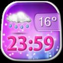 Beautiful Weather Clock Widget