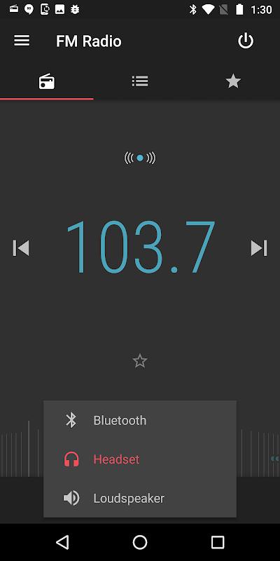 FM Radio screenshot 2