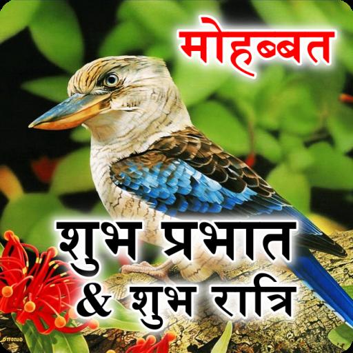Hindi Good Morning & Good Night Wishes Love