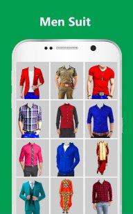 Man Formal Shirt Photo Suit Maker screenshot 1