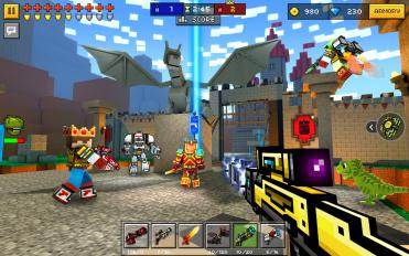 pixel gun 3d pocket edition screenshot 4