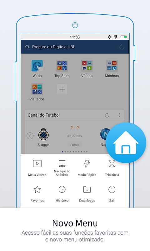 UC Browser Mini - Navegador screenshot 1