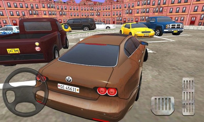 Reverse Car Parking Simulator: Driver School 2017 1 5