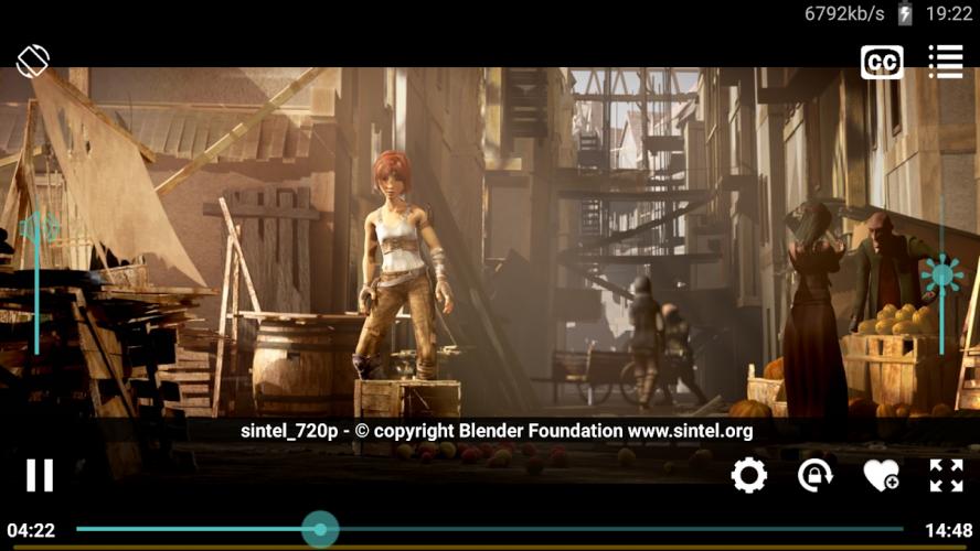Wuffy Media Player screenshot 1