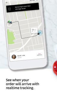 Uber Eats: Local food delivery screenshot 4