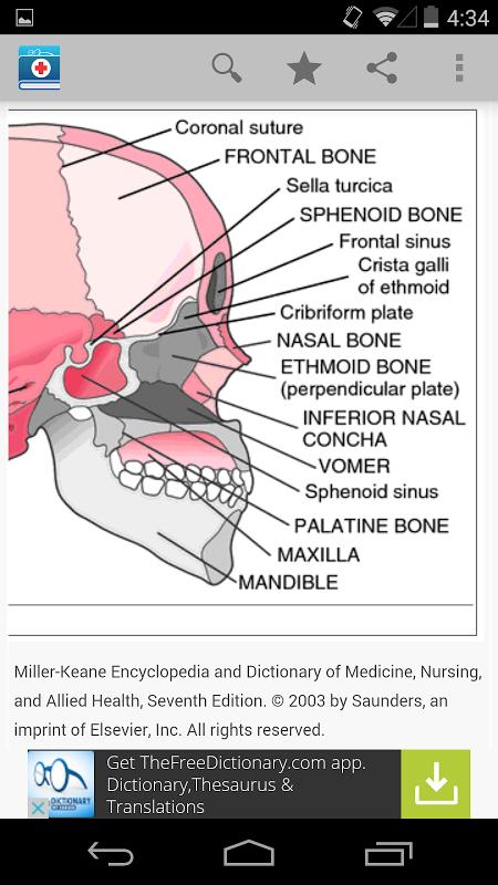 Medical Dictionary by Farlex screenshot 2