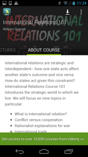 International Relations Course 1 1 Download APK for Android