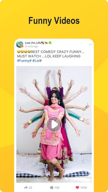 Jalebee - Fun Video, Shayari, Whatsapp status screenshot 1