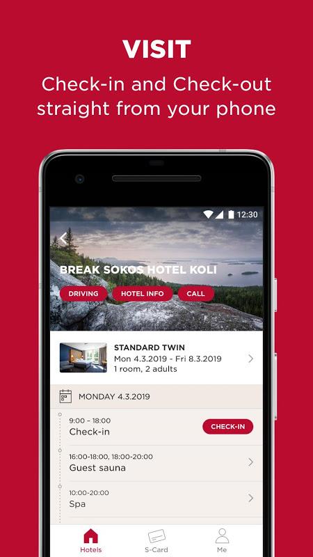 Sokos Hotels screenshot 1