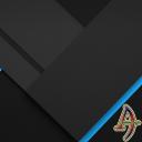 XZ Blue On Black Theme Xperia