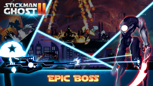 Stickman Ghost 2: Galaxy Wars screenshot 6