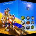 AppLock Theme Motocross Race