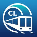 Santiago U-Bahn-Führer mit Metro Karte