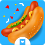 cooking game hot dog deluxe icon