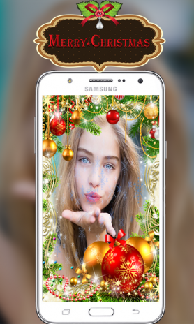 merry christmas photo frames santa image editor screenshot 3