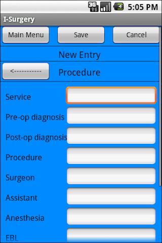 I-Surgery Notebook screenshot 2