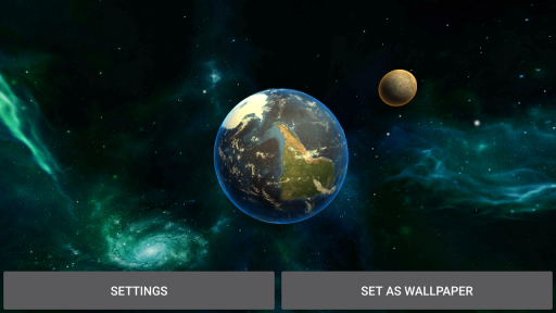 3D Solar System LWP screenshot 5