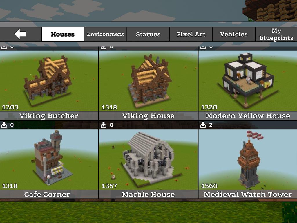 JurassicCraft: Free Block Build & Survival Craft screenshot 1