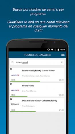 GuíaStar+ Lite 1 6 Download APK for Android - Aptoide