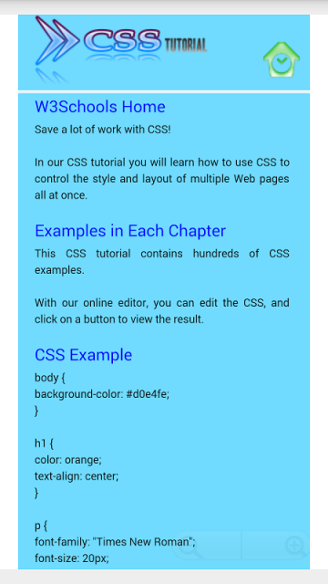 w3schools css tutorial pdf free download