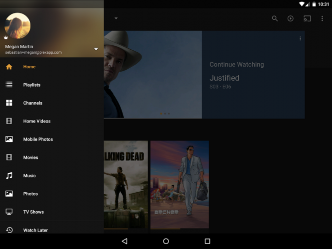 Plex: Stream Movies, Shows, Music, and other Media screenshot 7