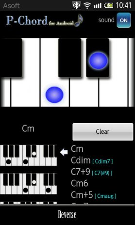 Pchord Piano Chord Finder 125 Download Apk For Android Aptoide