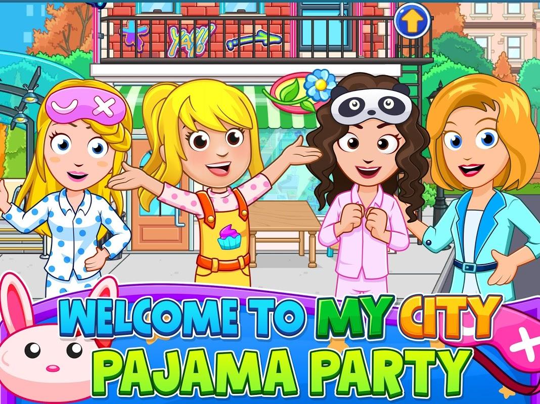 My City : Pajama Party screenshot 1