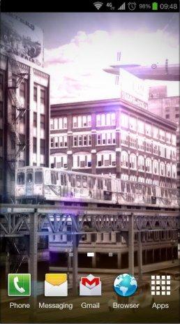 Chicago 3d Free Live Wallpaper Screenshot 3
