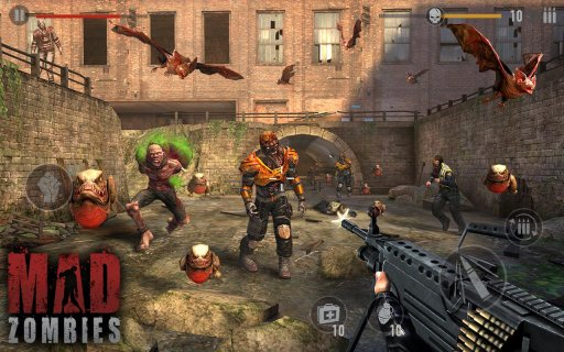 The Dead Uprising : MAD ZOMBIES 5 19 0 Download APK for Android