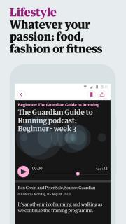 The Guardian screenshot 5