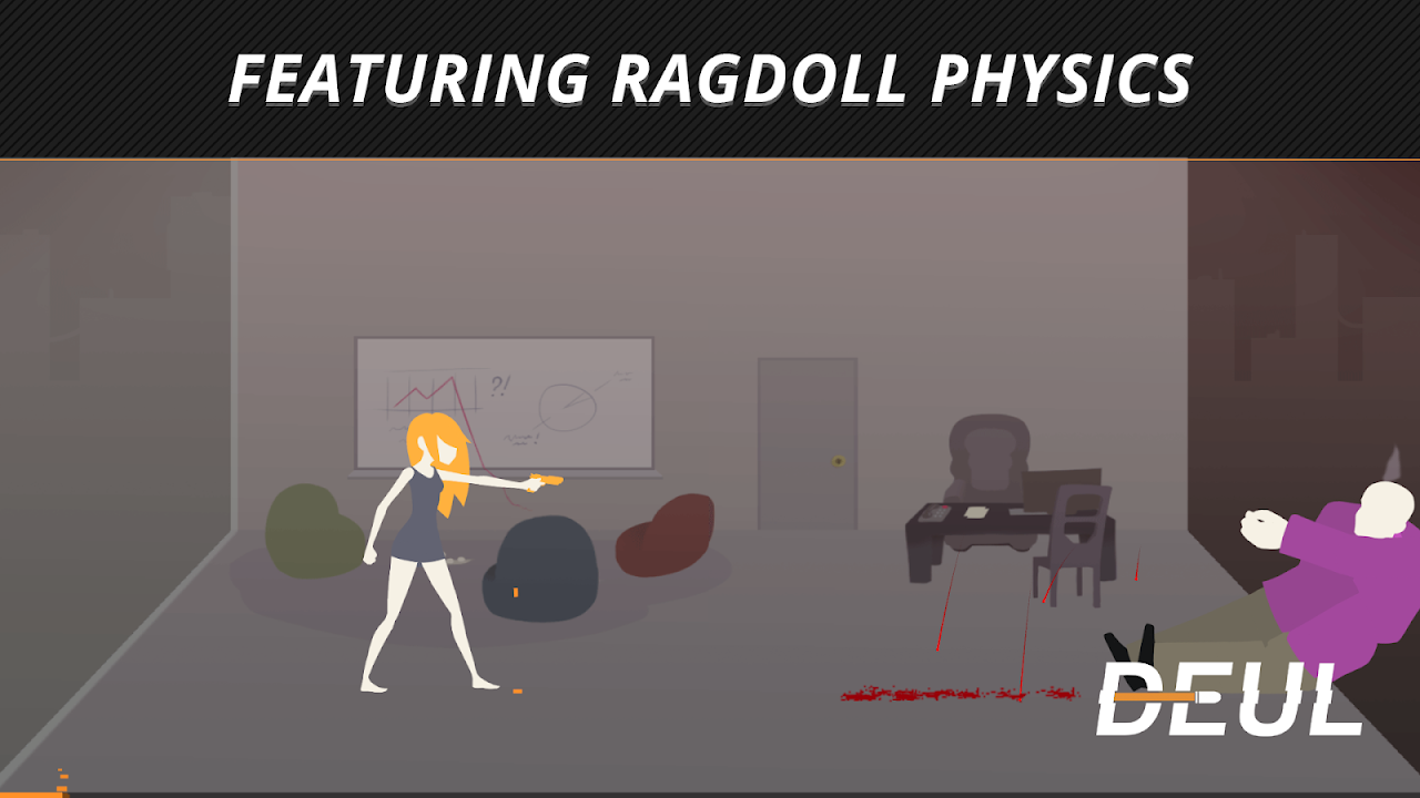 DEUL Classic Ragdoll Shooter screenshot 2