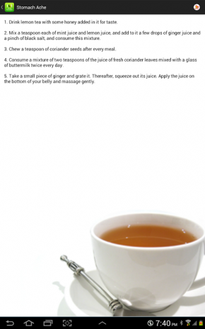 ... 101 natural home remedies cure screenshot 2 ...